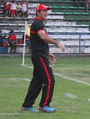 Paulo Moroni Flamengo-PI (Foto: Renan Morais/GLOBOESPORTE.COM)