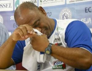 Claudinho Anacleto - técnico do São Bento pede demissão (Foto: Divulgação / São Bento)