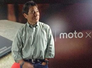 Guy Kawasaki falou a jornalistas após evento da Motorola em São Paulo (Foto: Gustavo Petró/G1)