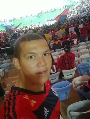 Yan Alves no Maracanã (Foto: Arquivo Pessoal/Yan Alves)