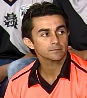 Pedro Medina técnico Nacional de Uberaba (Foto: TV Integração/Reprodução)