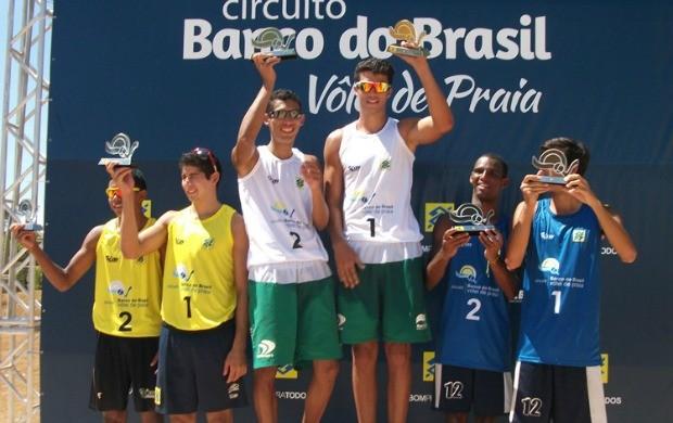 Márcio e Saymon vencem etapa do brasileiro sub-21 em Campinas (Foto: Divulgação/CBV)
