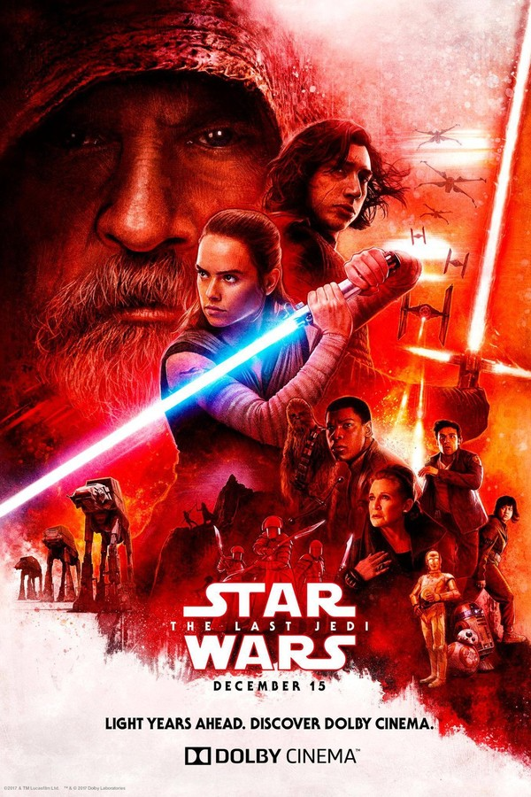 """Pôster de """"O Último Jedi"""" (Foto: Reprodução)"""