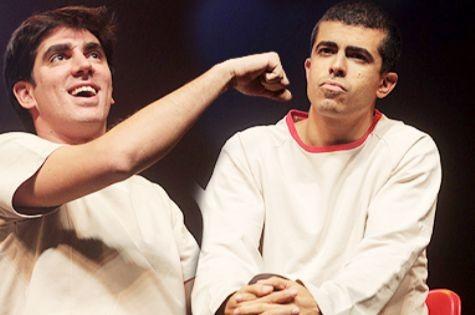 Marcelo Adnet e Marcius Melhem (Foto: Divulgação)