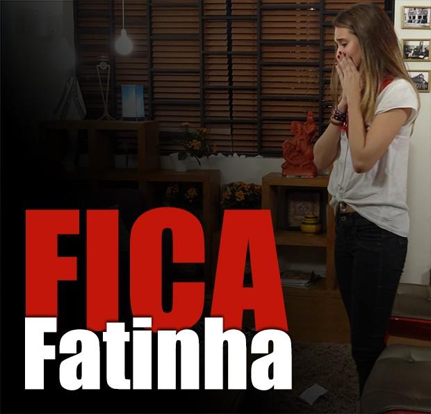 Fica, Fatinha!!! (Foto: Malhação / TV Globo)