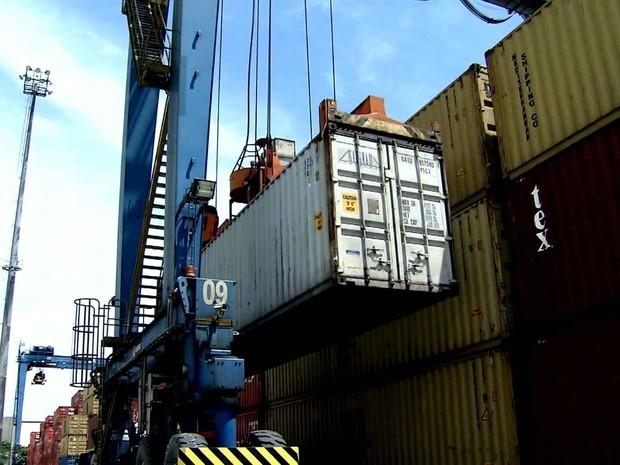 Exportações (Foto: Reprodução Globo News)
