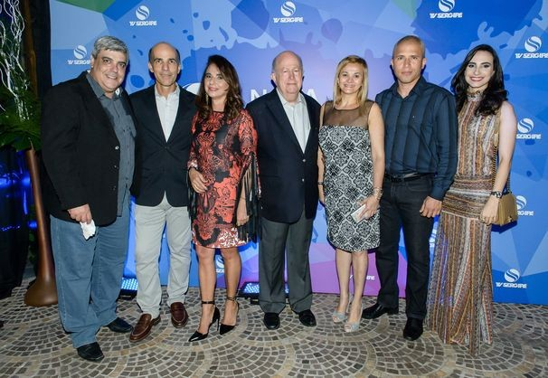 Membros da diretoria da emissora fizeram questão de prestigiar o lançamento (Foto: Divulgação / TV Sergipe)