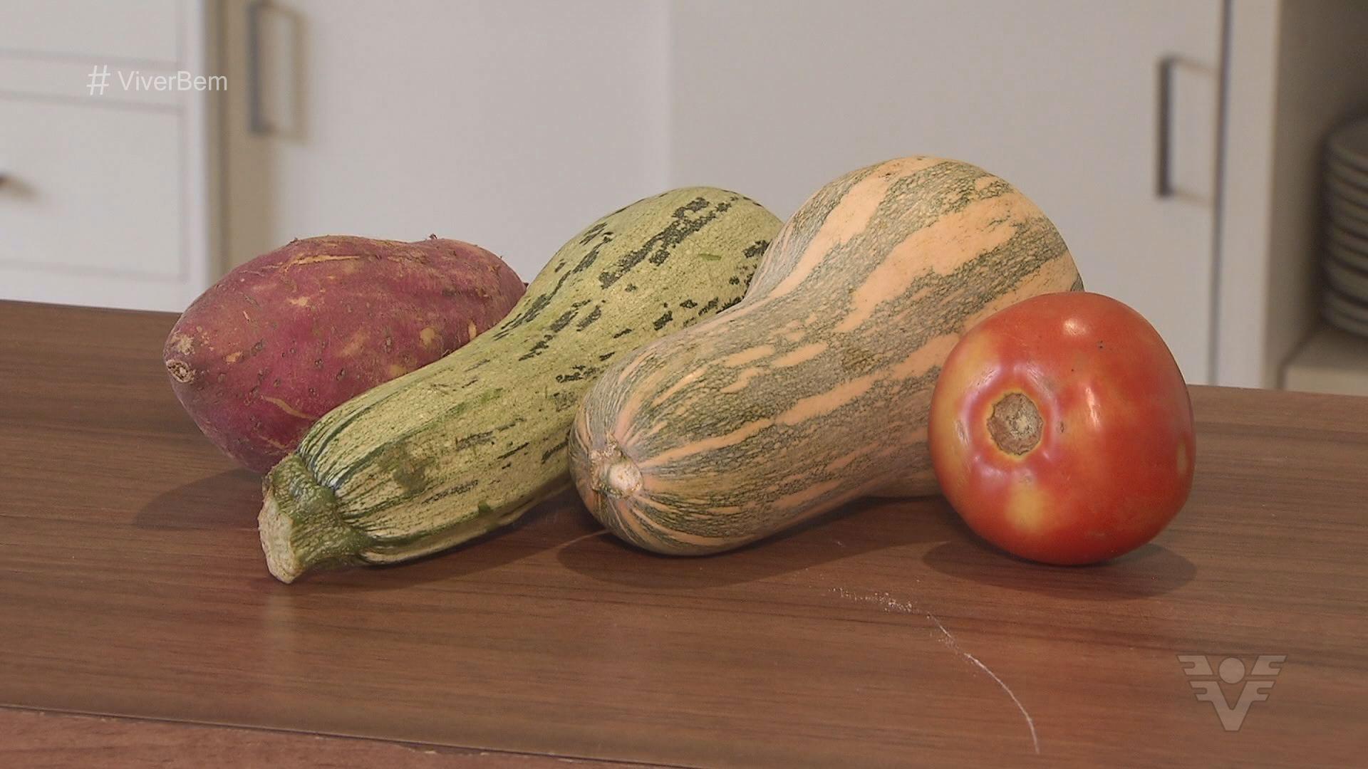 Alimentos naturais (Foto: TV Tribuna)
