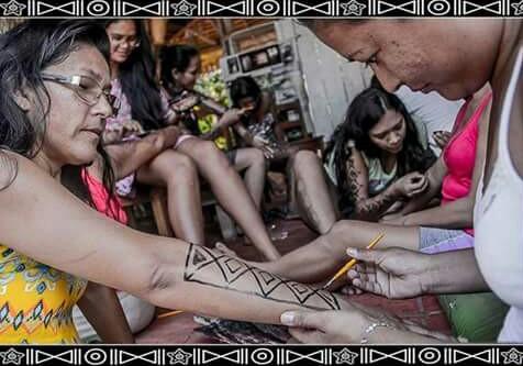 Evento contará com exposição de quadros e pintura corporal (Foto: I Mutak/ Reprodução)