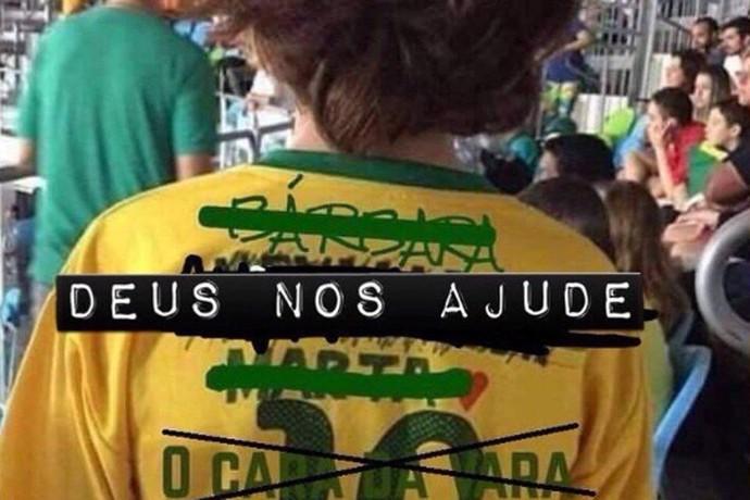 Meme camisa Neymar (Foto: Reprodução)