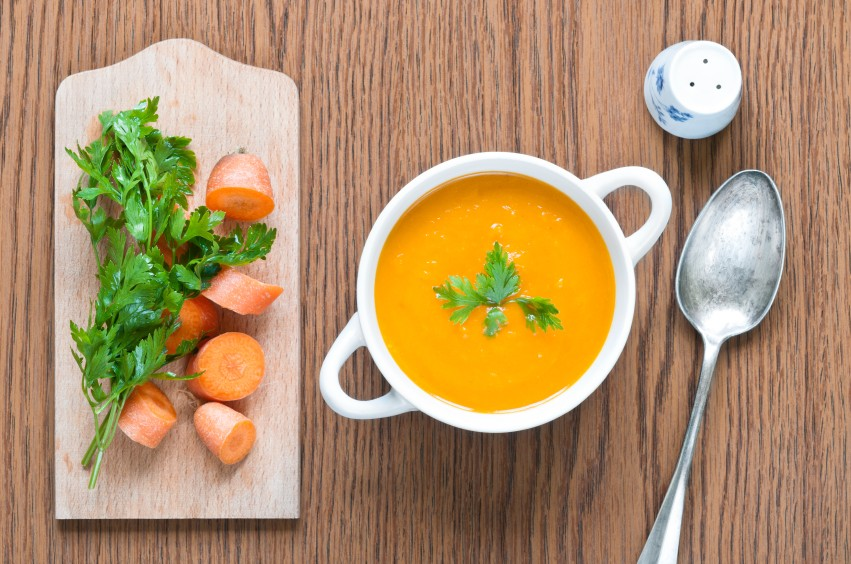 Sopa de cenoura com gengibre (Foto: Divulgao/ I Stock Photos)