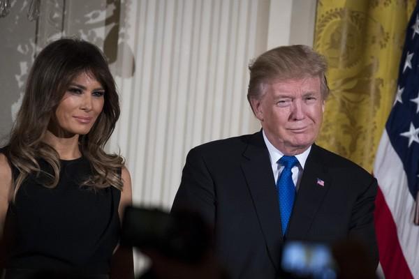 Donald Trump e Melania Trump (Foto: Getty Images)