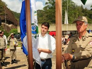 Bernardo Rossi, deputado que fez a indicação para a nova sede, participou da cerimônia. (Foto: Divulgação/Estela Siqueira)