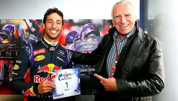 Daniel Ricciardo e Dietrich Mateschitz (Foto: Divulgação/Red Bull)