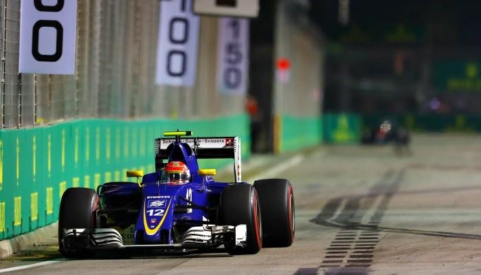 Felipe Nasr no GP de Cingapura
