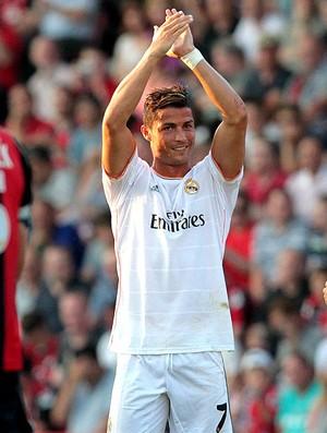 cristiano ronaldo real madrid gol Bournemouth (Foto: Agência EFE)