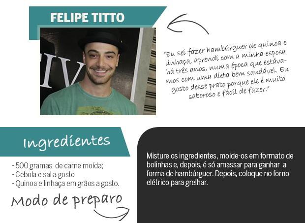 Felipe Titto (Foto: Arte: Eduardo Garcia)