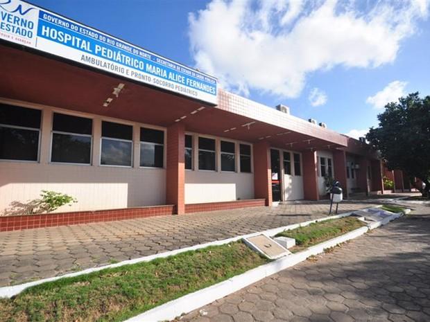 Hospital Maria Alice Fernandes (Foto: Tribuna do Norte)