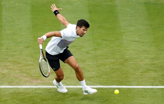 826db8904fa Djokovic vence em torneio de tênis em Eastbourne (Foto  Action Images via  Reuters