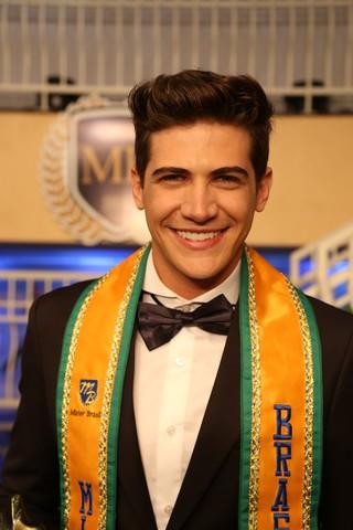 Carlos Franco, Mister Brasil 2016 (Foto: Leonardo Rodrigues/Divulgação)