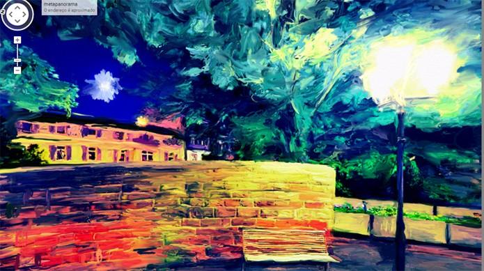Google Maps pinturas (Foto: Reprodução/Moya)