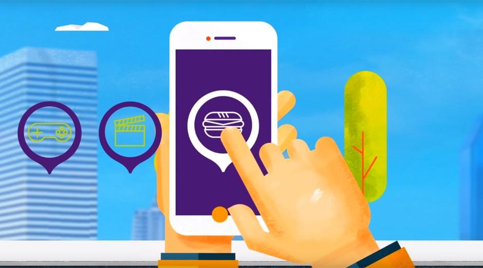 Zolkin: aplicativo quer oferecer vantagens para os comerciantes dos bairros (Foto: Reprodução)