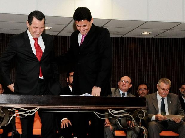 Inquérito diz que Éder Moraes agia em favor de Silval Moraes (Foto: Josi Pettengill/Secom-MT)