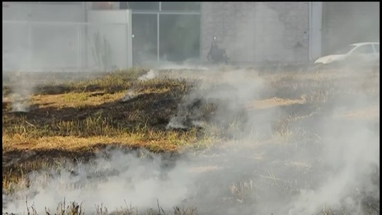 Mais de 50 ocorrências de incêndio são registradas pelos Bombeiros em Uberlândia