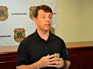 Sandro Luiz Pereira, delegado da Polícia Federal (Foto: Roger Henrique/G1)