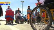 'Corrida fantástica' anima Semana da Pessoa com Deficiência no RS