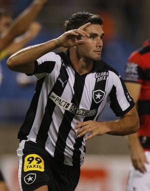 Navarro Botafogo x Atlético-GO (Foto: Alexandre Cassiano/ Agência O Globo)