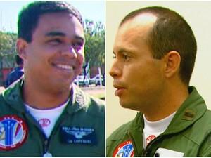 Os pilotos Fabrício (à esquerda) e João estavam na AFA desde 1998 em Pirassununga (Foto: Reprodução/EPTV)
