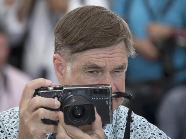 O diretor  Gus Van Sant durante o 68º Festival de Cinema de Cannes (Foto: REUTERS/Yves Herman)