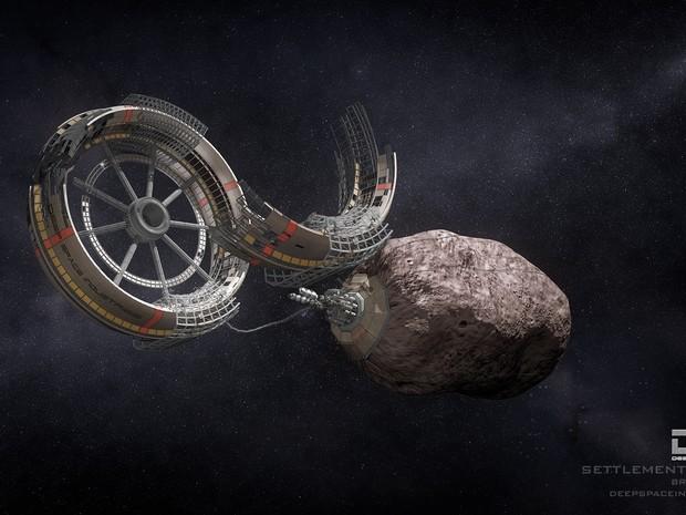 Empresa lançará sondas para explorar recursos de asteroides (Foto: Divulgação/ Deep Space Industries)