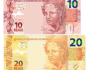 Novas cédulas (Foto: Divulgação/Banco Central)