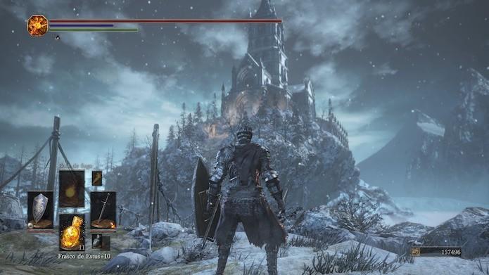 Dark Souls 3: Ashes of Ariandel: confira as novidades (Foto: Reprodução/Victor Teixeira)