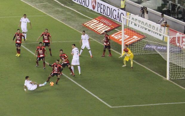 Santos x Flamengo-PI - Vila Belmiro - Copa do Brasil (Foto: Flávio Meireles)