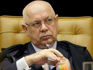 O ministro Teori Zavascki, a quem caberá decidir que partes da investigação vão ficar no STF (Foto: Fellipe Sampaio/SCO/STF)