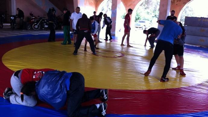 Luta Olímpica Garanhuns (Foto: Danilo Cesar / TV Asa Branca)
