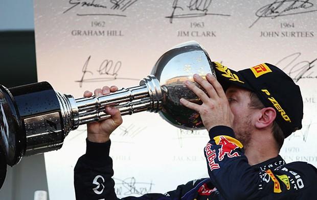 Sebastian Vettel vence o GP do Japão (Foto: Getty Images)