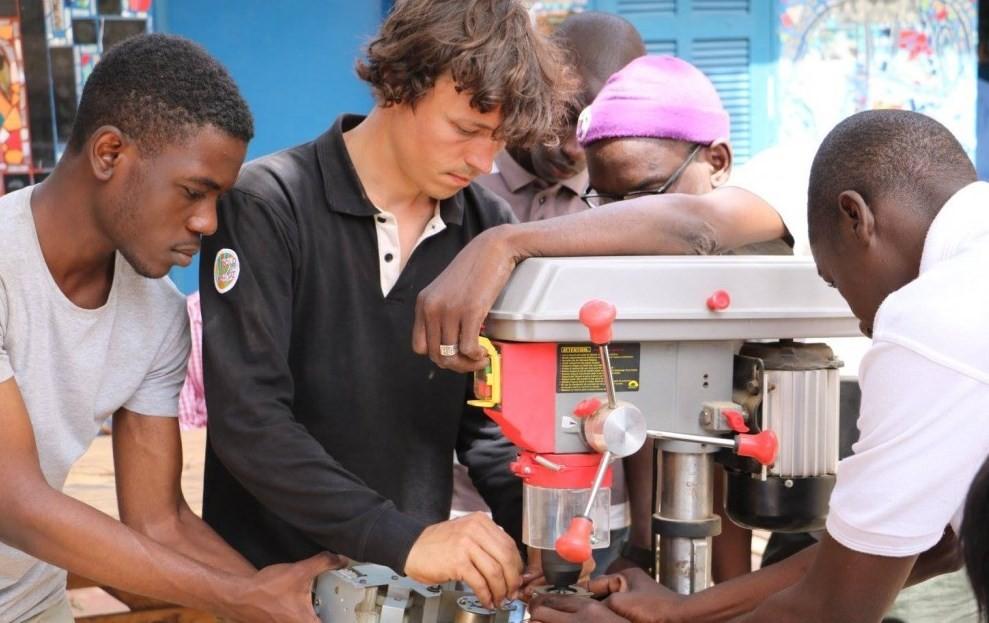 Workshop de energia no Senegal, em maio de 2016