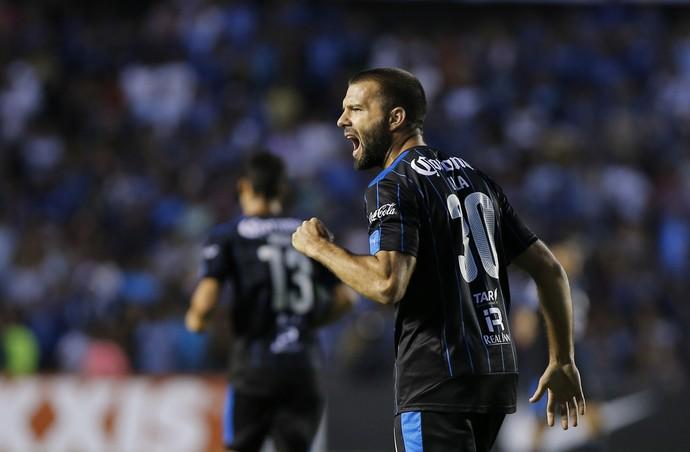 Emanuel Tito Villa, Querétaro x San Francisco, Champions da Concacaf (Foto: Agência EFE)