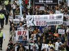 Hong Kong reúne milhares contra desaparecimento de editores