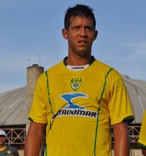 Raphael Freitas - Atacante Picos  (Foto: Renan Morais/GLOBOESPORTE.COM)