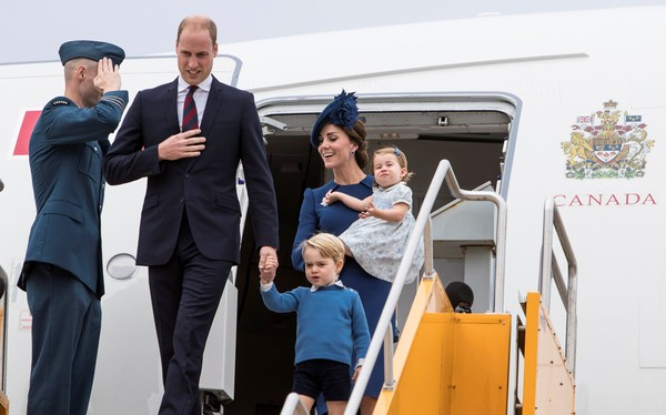 Veja 5 motivos para acompanhar a viagem da família real pelo Canadá
