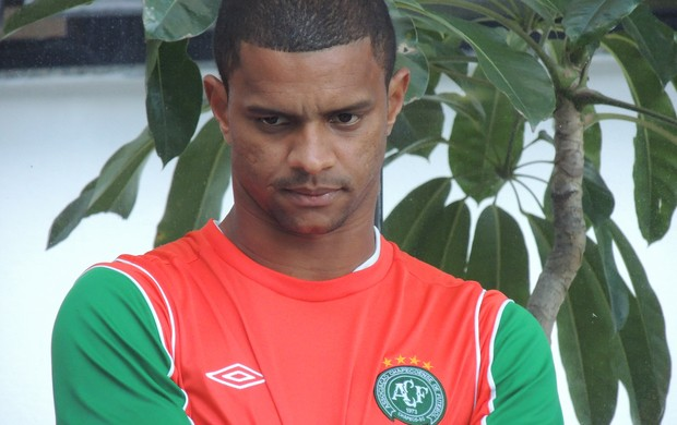 Bruno Rangel Chapecoense (Foto: Marcelo Silva)