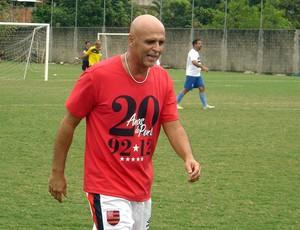 Pelada 20 Anos do Penta, Flamengo, Júlio César Uri Geller (Foto: Igor Castello Branco / Globoesporte.com)