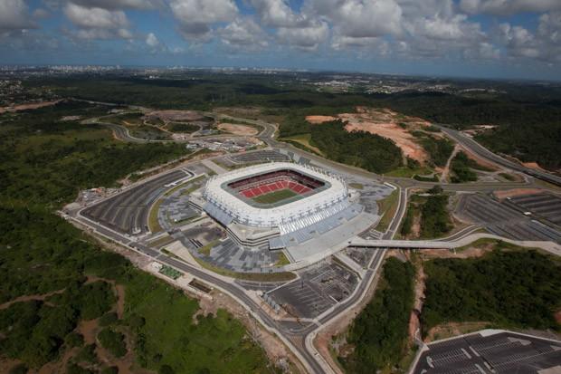 Arena Pernambuco em agosto de 2013 (Foto: Ana Araújo/Portal da Copa)