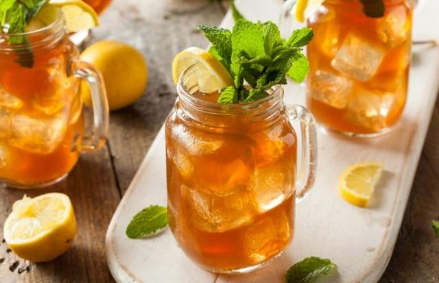 Chá mate com frutas cítricas (Foto: Divulgação)