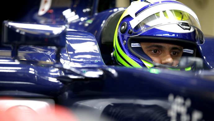 F1: Felipe Massa dar shou e é o mais rápido do dia